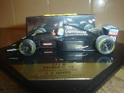 Vendita Professionale Sauber C 12-german Grand Prix-j.j. Lehto - 1993 - 1:43 - Raro & Da Collezione-mostra Il Titolo Originale