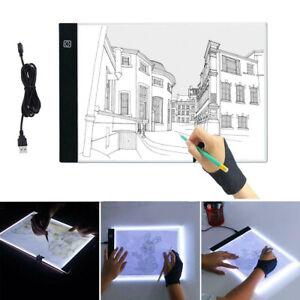 A4LED Craft Tracing Light Box Drawing Board Stencil Diamond Painting Thin Pad UK