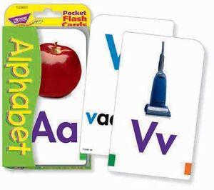 Ensoleillé Tendance Enfants Abc Alphabet Poche Flash Cartes-afficher Le Titre D'origine