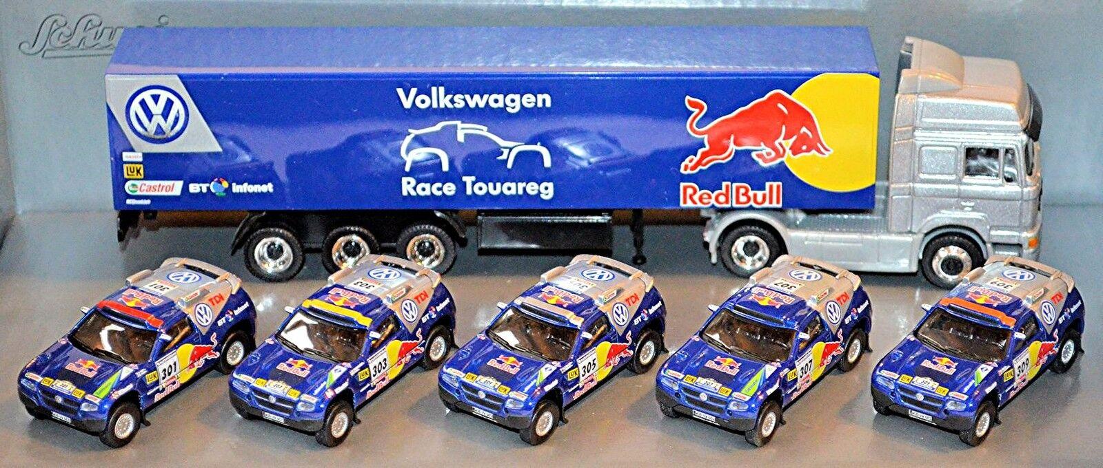 VW Course Touareg 2 Jahresset 2006 Lacs Dakar rojo Bull 5 X Voiture Particulière