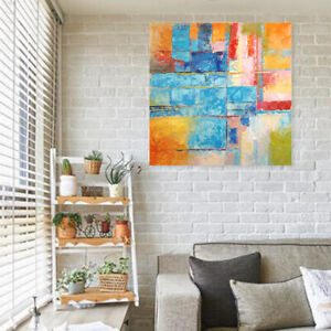Astounding Details About Hand Draw Modern Abstract Wall Art Oil Painting On Canvas Color Combo Framed Home Interior And Landscaping Staixmapetitesourisinfo