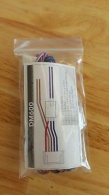 Original NuStart Compustar CM 4 Pin Main D2D Car Alarm Wire Harness Plug