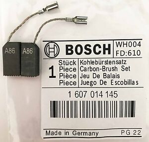 Genuine Bosch Carbon Brushes 1607014145 for GWS 8-115 C PWS 700-115 Grinder S44
