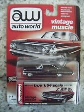 AUTO WORLD VINTAGE MUSCLE #1B 1964 FORD GALAXIE 500XL (BROWN)