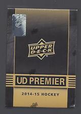 UD PREMIER 2014-15 FACTORY SEALED  HOCKEY HOBBY BOX