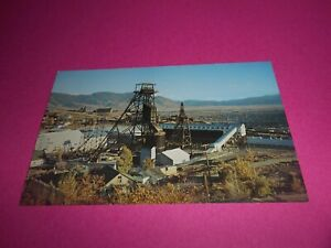 VINTAGE-POST-CARD-T-KELLY-MINE-BUTTE-MONTANA