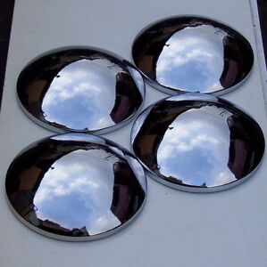 Baby Moon Hub Caps Set Of 4 Vw T1 Beetles 68 On T2 S 71