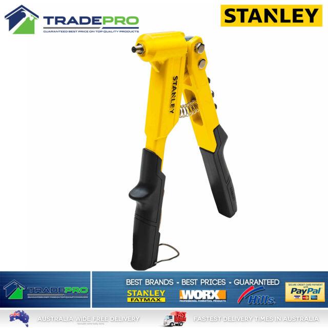 Rivet Gun Stanley Contractor Commercial Grade New Model PRO Pop Riveter MR100CG