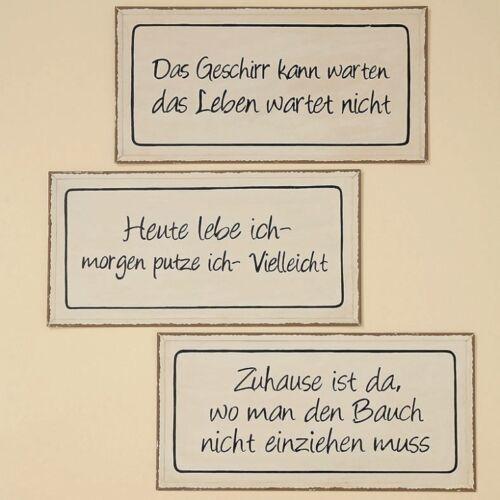 1x Spruch Schild Trudi zum Aufhängen Wanddekoration Geschenkidee Wandbild 157140