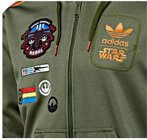 Wars Star Originals Size Adidas X Hooded Extra Xxl Han Solo Wing wOE6xFq