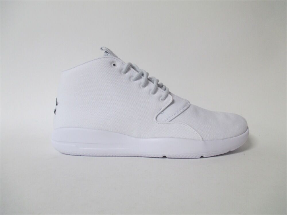 Nike Air Jordan Eclipse Chukka White Pure Platinum Black Sz 10 881453-100 Great discount The most popular shoes for men and women