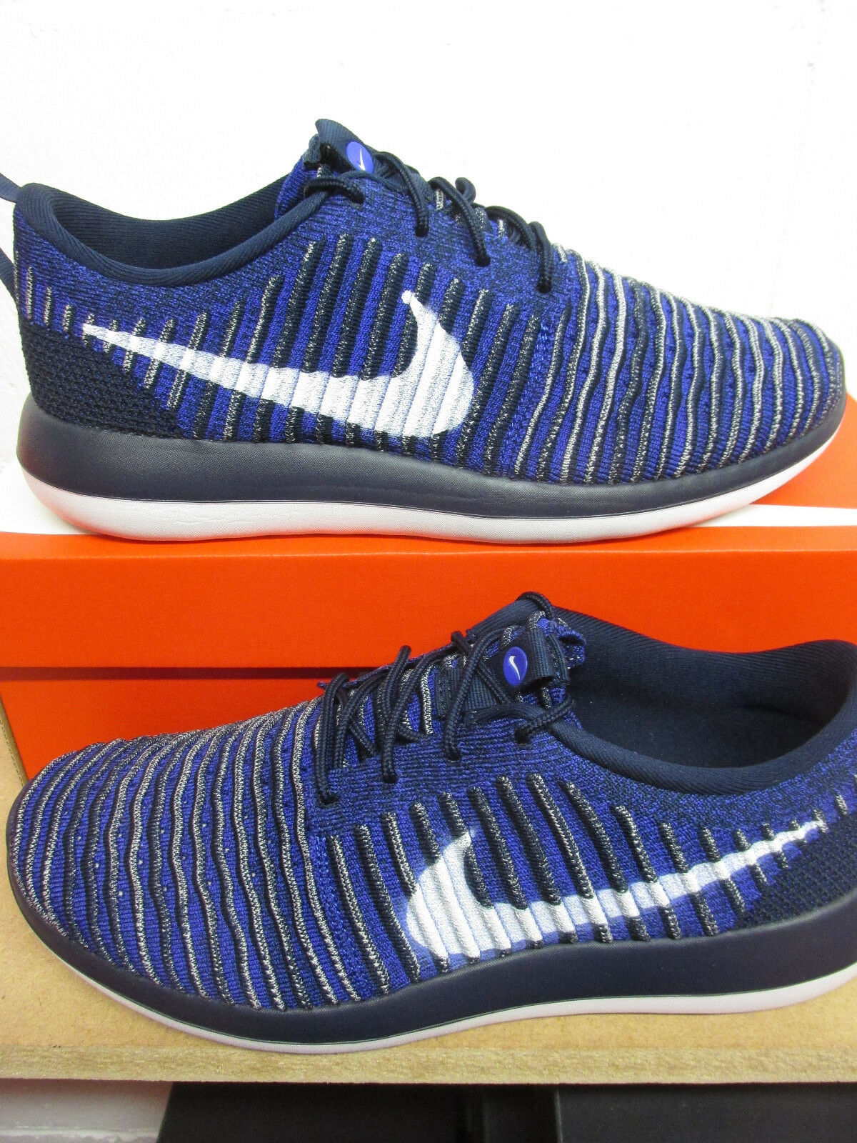 Nike Roshe Two Flyknit Mens Running Trainers 844833 402 Sneakers shoes