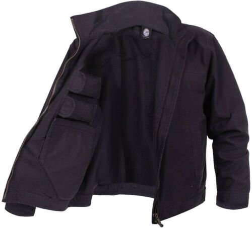 Concealed Carry Jacket Black Lightweight Ambidextrous  59585 Rothco