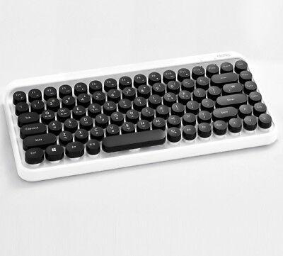 Retro Classic Design ACTTO Retro Mini Wireless Bluetooth Keyboard BTK-01 Black