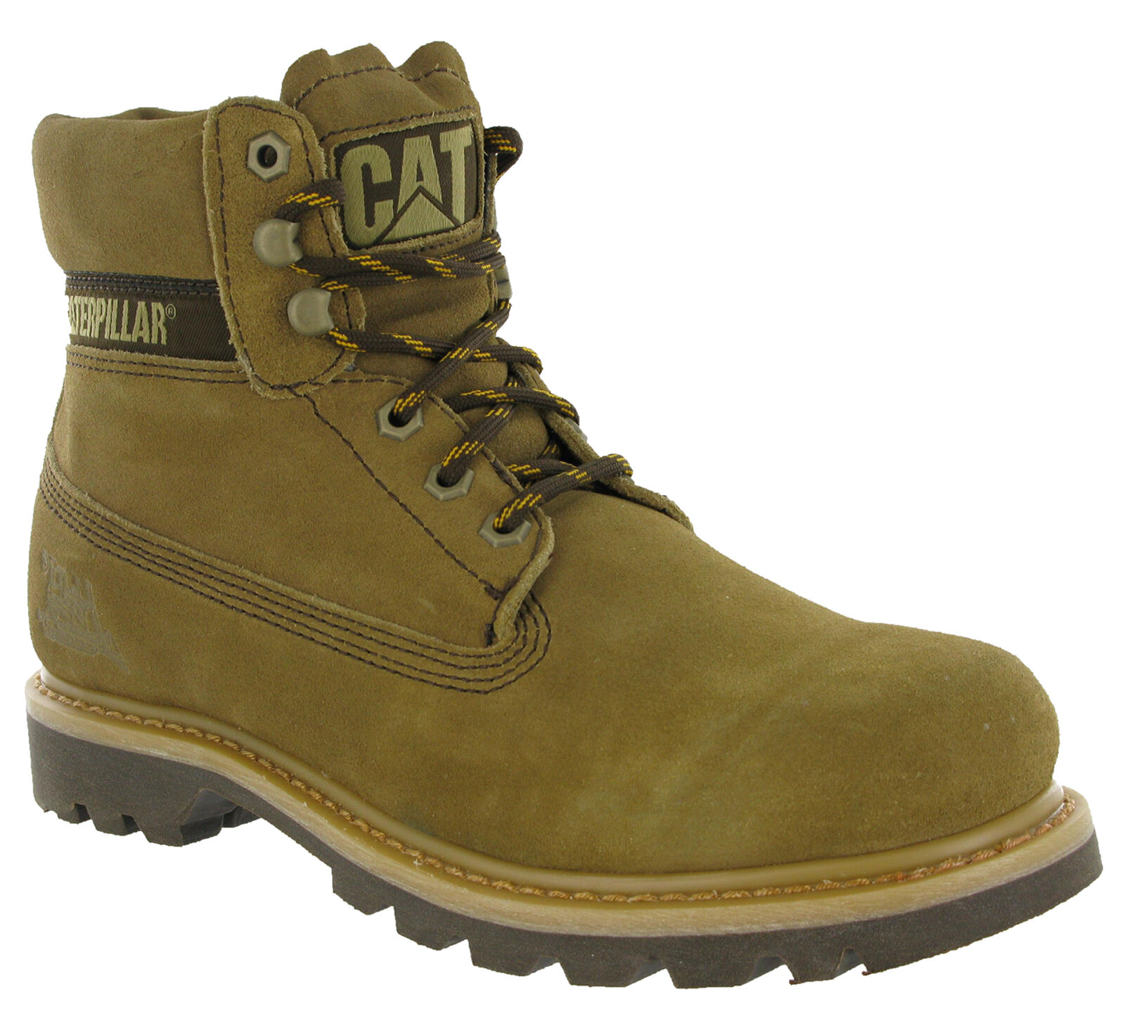 Caterpillar Colorado CAT Boots Leather Mud Ankle Wide Lace CAT Colorado Mens Work Boots 1421fa