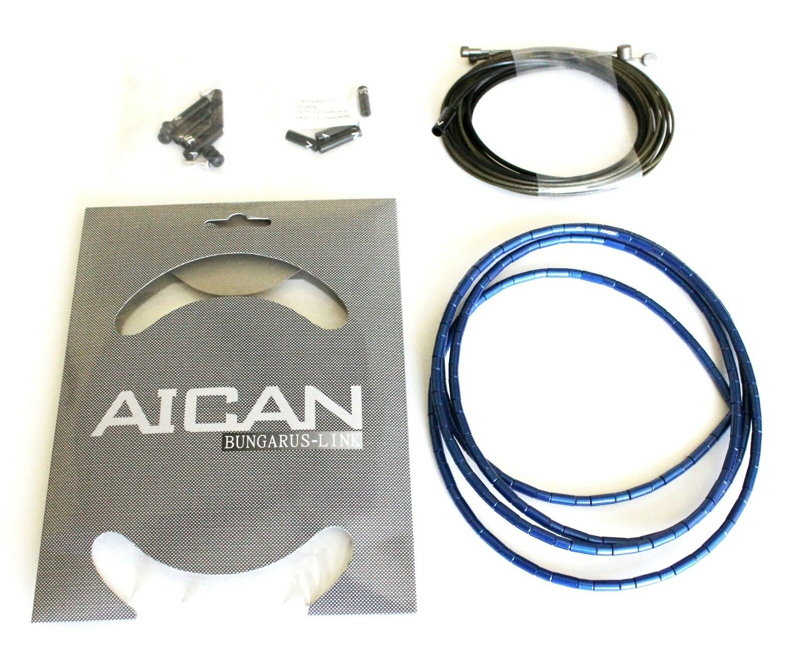 AICAN Superlight Bungarus BRAKE Cable Housing set kit Nokon, I-Link,blueee