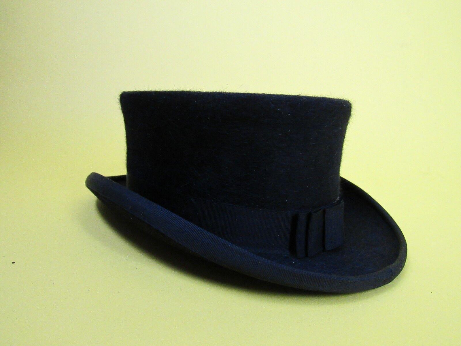 NUOVO con etichettaChristys 'Pelliccia Cappello Di Feltro dressageNeroTaglia 53 cm