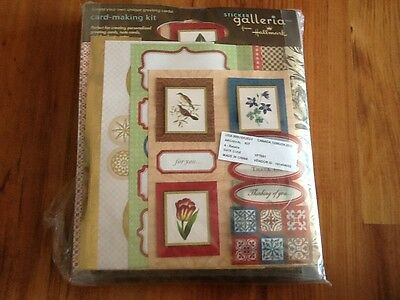New Hallmark Card Making Kit  10 cards Personalized Greeting Note