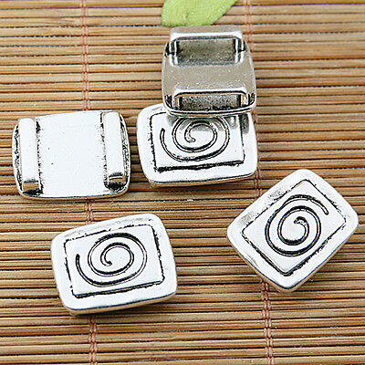 5pcs tibetan silver tone clasp connector for DIY making EF1581