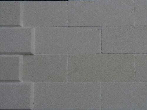 100 Sq INS Baño Real piedra vestida applestone se desliza para revestimiento dollshouses