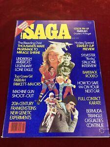 Vintage Magazine Saga Celebrity Farrah 1977 Collectable Celebrity Magazine BK4