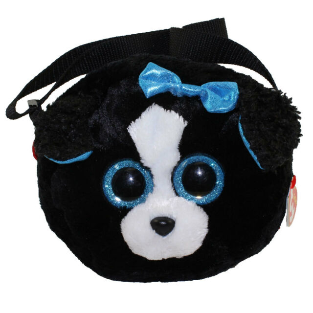 2018 Ty Gear Beanie Boos Tracey The Dog Shoulder Bag  purse Style in Hand 440df412f34e
