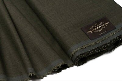 Fabric Vitale Barberis Canonico Super 130's Wool Suiting Fabric Italy 3.25 Length