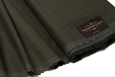 Crafts Vitale Barberis Canonico Super 130's Wool Suiting Fabric Italy 3.25 Length Men's Clothing