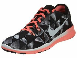 Nike Free 5.0 Tr Fit Print Running Women's Shoes Size