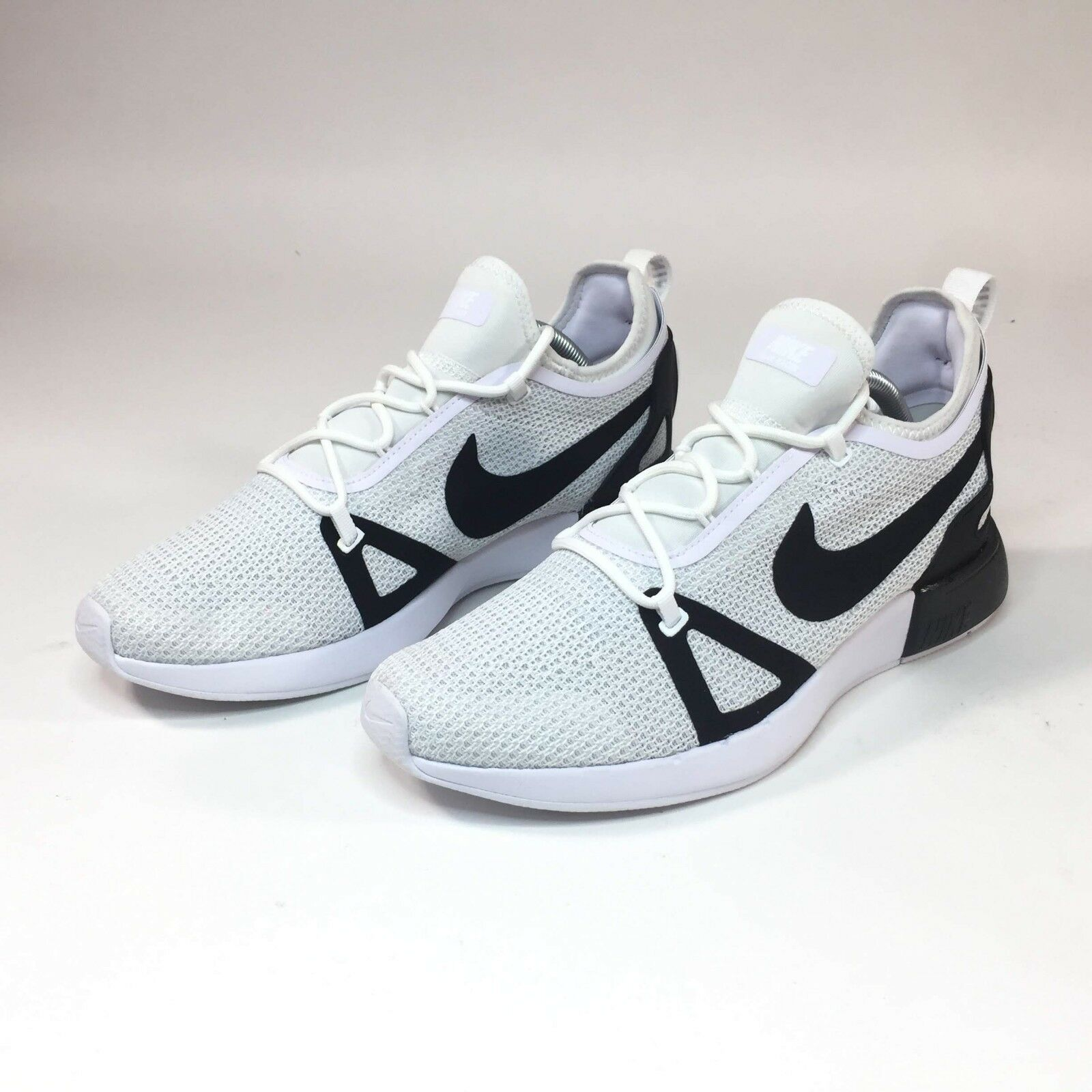 Nike Duel Racer White Black Pure Platinum 918228-102 Msrp 120