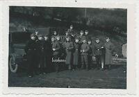 Foto Feldbahn Kp.352- Soldaten -LKW mit Kennung  2.WK ( L434)