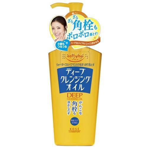KOSE Softymo Makeup Removal Deep Cleansing Oil body 230mL