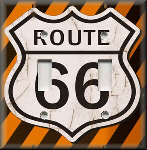 Light Switch Plate Cover Route 66 Street Sign Travel