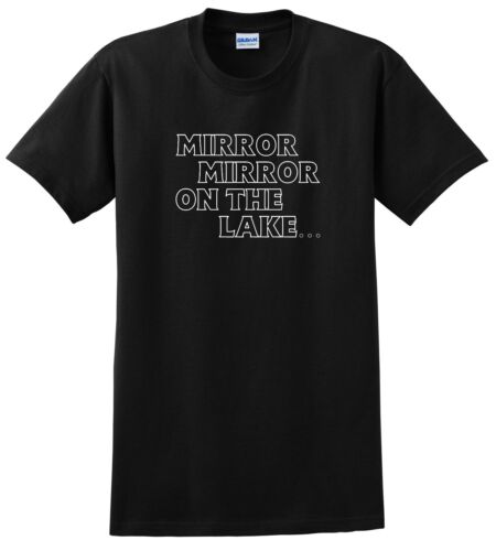 WAKE BOARD T SHIRT YOUTH MIRROR MIRROR ON THE LAKE JUST RIDE CHILD BOAT
