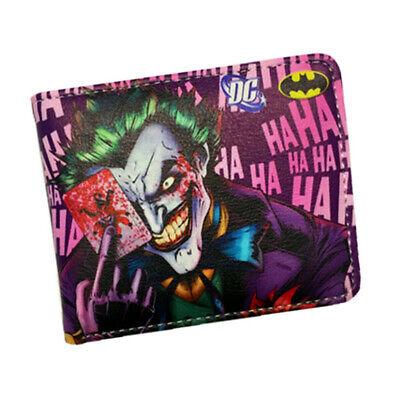 The Joker Geldbeutel Portemonnaie Suicide Squad Geldbörse Wallet Kartenhalter