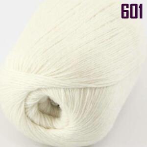 Sale-New-1-ball-x-50g-HIGHT-QUALITY-100-Cashmere-Wool-Hand-Knitting-Yarn-601