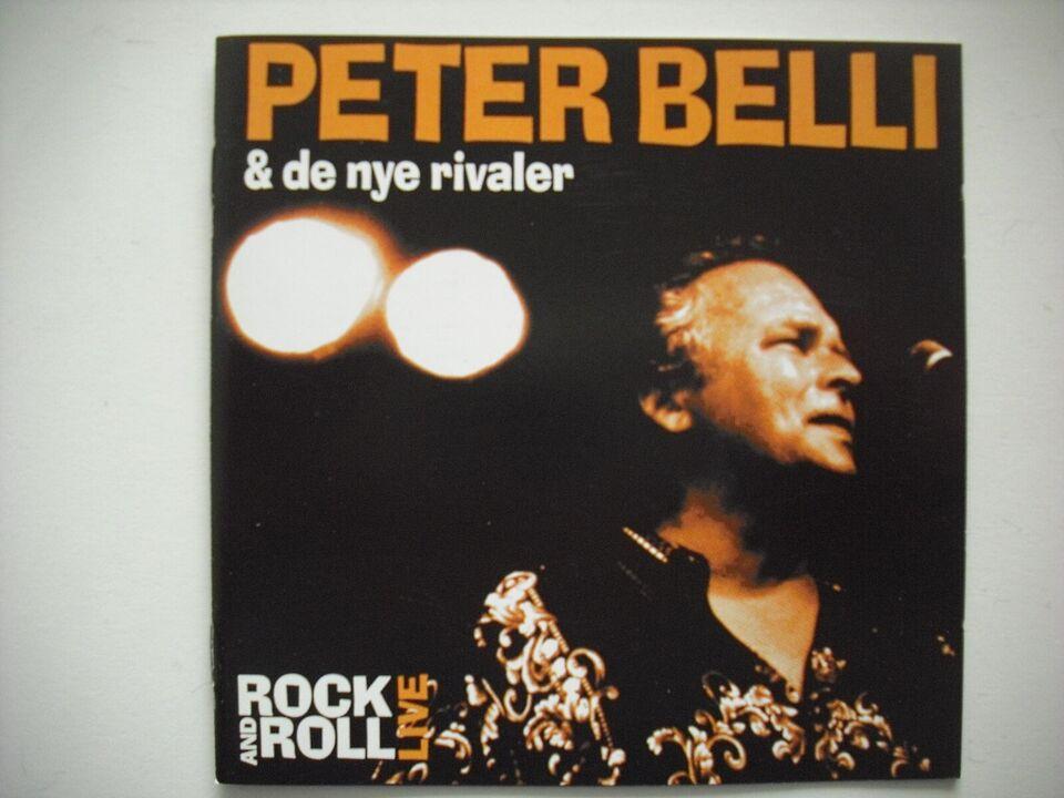 Peter Belli & de nye rivaler: Rock and roll - live, andet