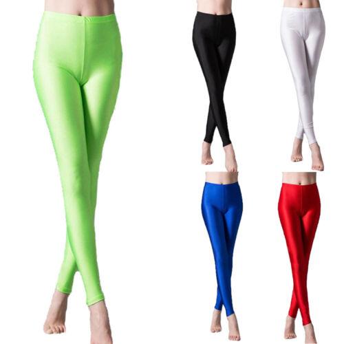 Women Casual Long Leggings Full Length Gym Yoga Pants High Waist Rise Trousers