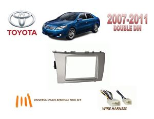 2011 camry stereo removal