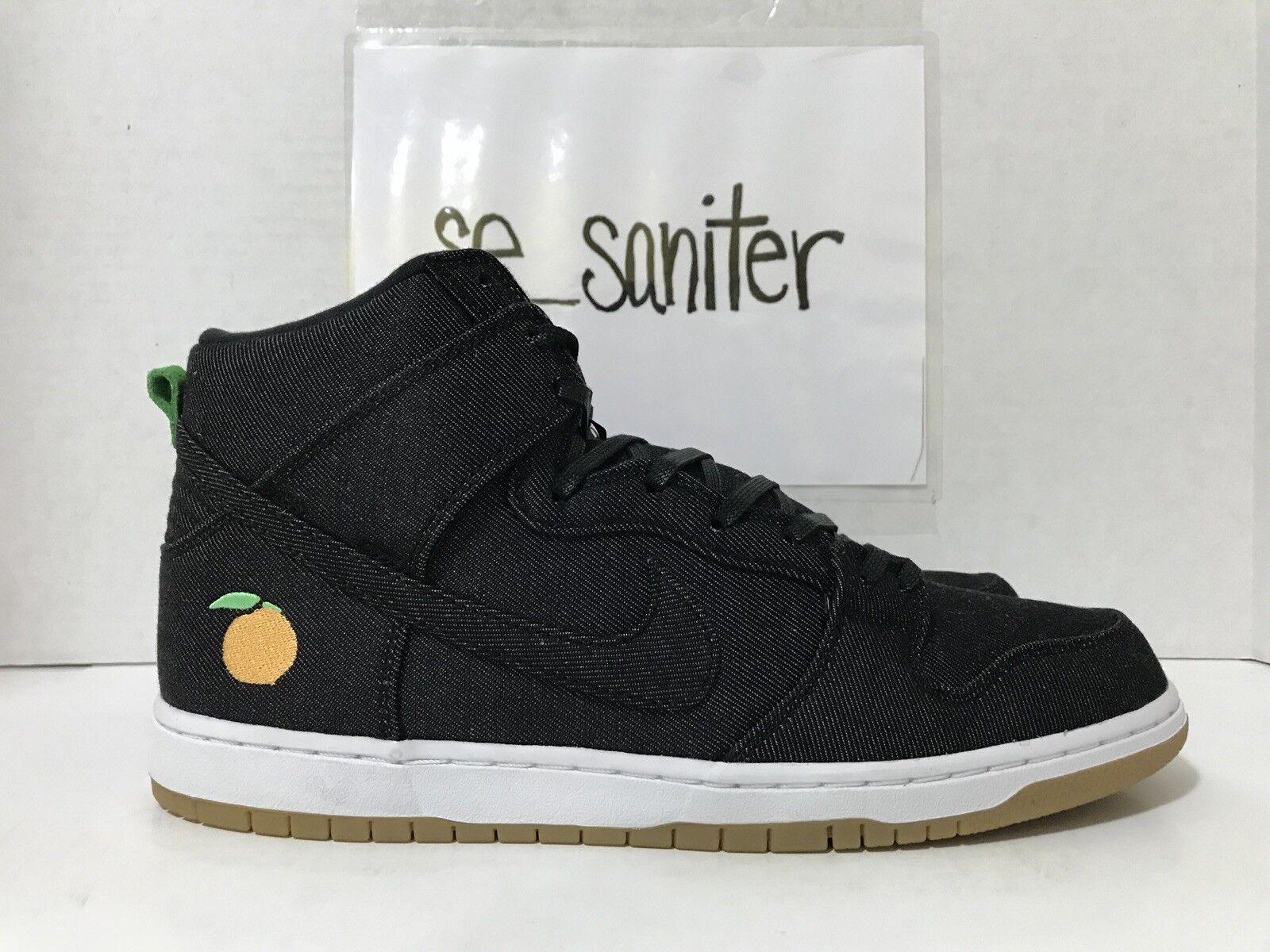 76457b4fb24d Nike SB Dunk Dunk Dunk High TRD QS Momofuku Denim David Chang Peach  881758-071