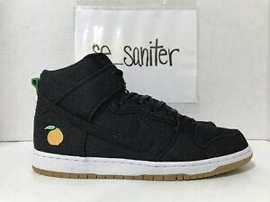 aed4bc75e393 Nike SB Dunk High TRD QS Momofuku Denim David Chang Peach 881758-071 ...