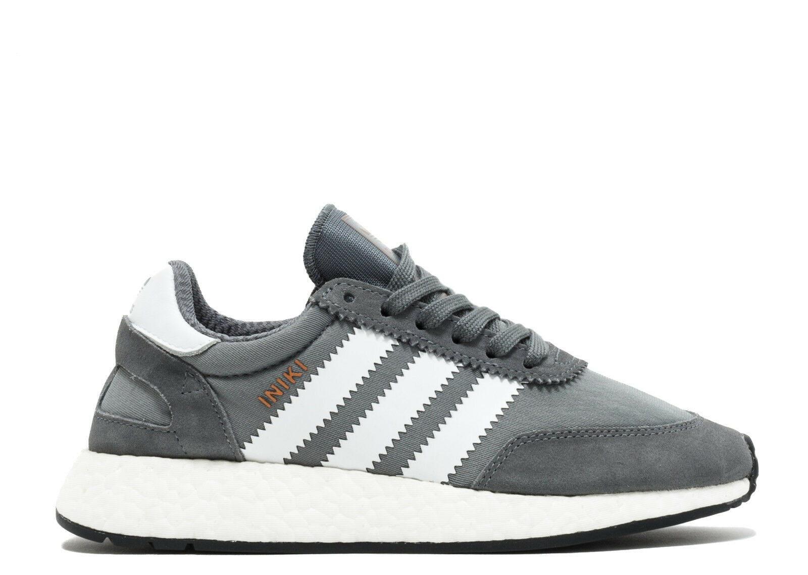 Mens Adidas Iniki Runner W - BB2089 - Grey White Trainers