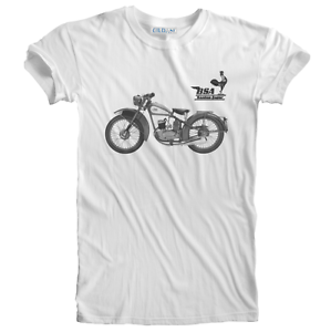Retro Vintage Classic BSA Bantam Motorcycle Biker t-shirt Sizes S to 5XL