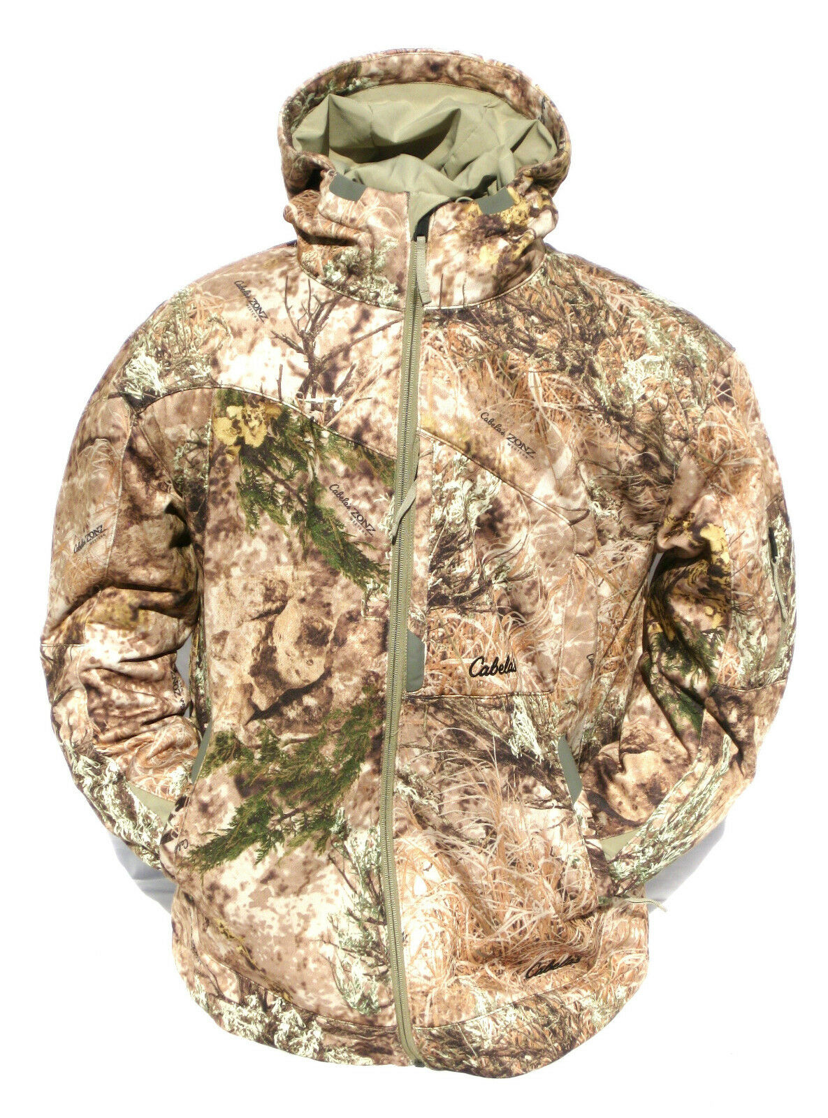 Cabela's Men's  Western Zonz Woodlands Active Merino-Wool Windshear Hunting Parka  factory outlet store