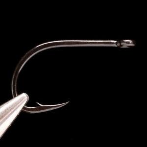 DAIICHI-3111-HOOK-Black-Ace-Salmon-amp-Steelhead-Saltwater-Fly-Tying-Hooks-NEW