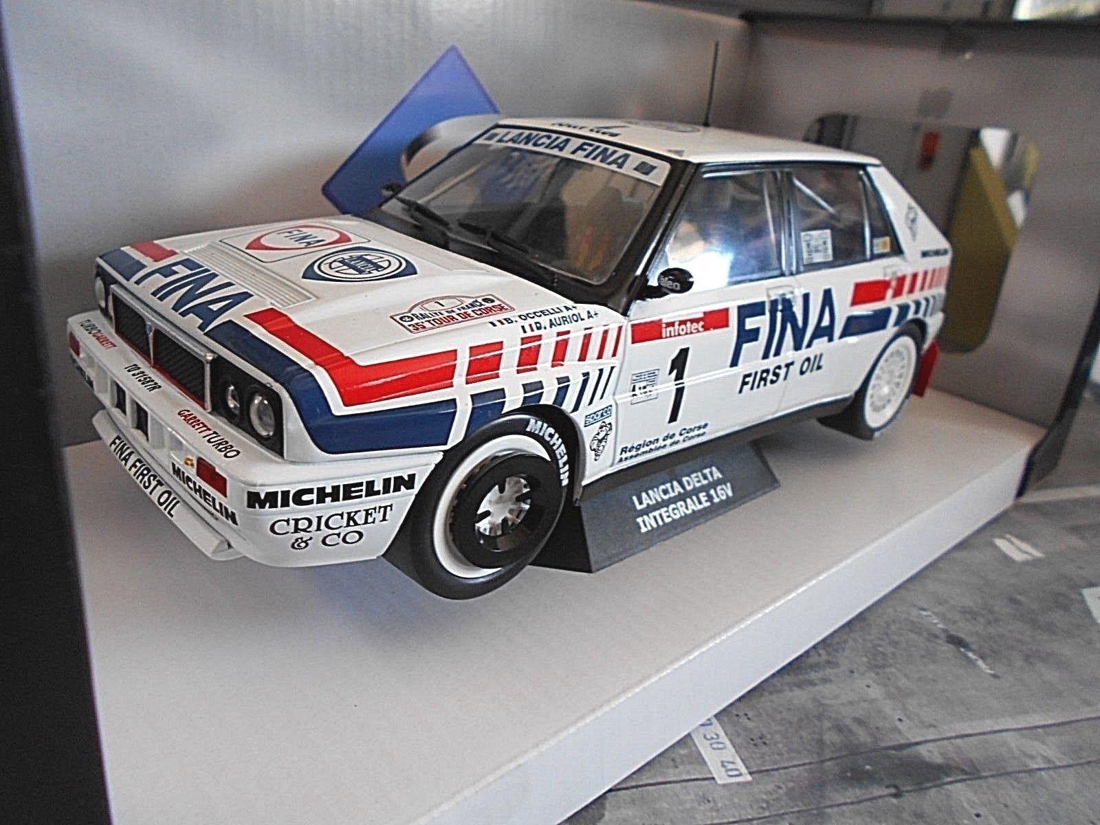 Lancia Delta HF 16v rally intergrale TDC TDC TDC 1991  1 auriol Corse fina solido 1 18 a69dd2