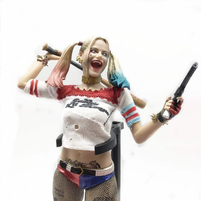 16 SCALA 12 SQUADRA suicida Harley Quinn cifra da collezione Crazy giocattoli
