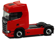 Herpa LKW Scania CS 20 Topl/Aerop. SZM rot m. Chromfelgen