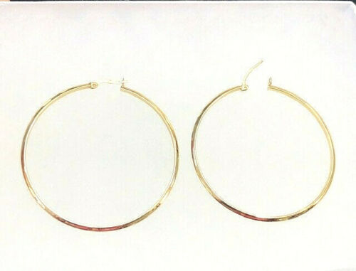 14K GOLD LARGE HOOPS YELLOW GOLD 14K hoops