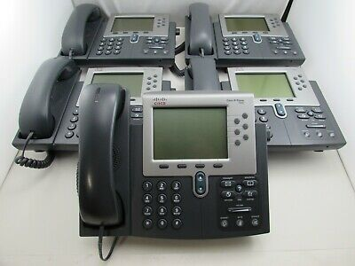Cisco CP 8841 VoIP IP Phone With Stand /& Handset